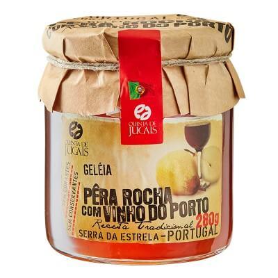 GELEIA DE PERA ROCHA COM VINHO DO PORTO
